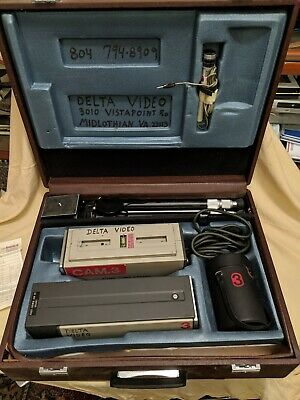 Vintage Sony AVC-3200 B & W Camera System with Case FREE SHIPPING