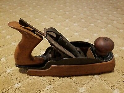 Antique Stanley Bailey No. 35 Transitional Woodworking Plane
