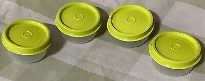 Tupperware Smidgets Set Of 4 In 2 Colors- New -Free Shipping....