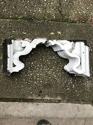 2 Antique  Solid Wood Corbels