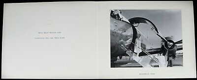 -Elizabeth Royal, Queen Mother- Australia 1966 Official Christmas New Year Card