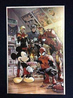 Marvel Comics #1000 Mickey Mouse Ramos Variant Cover 2019 Disney D23 Expo NM
