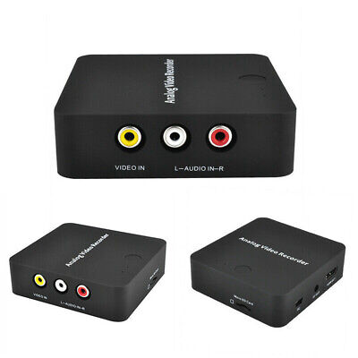 Device Portable AV Audio Converter Video Recorder Card HDMI Output With Cable
