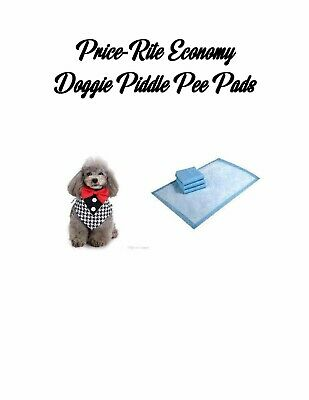 """23x24"""" Price-Rite Econo Dog Puppy Piddle Pee House Breaking Pads- up to 600 Pads"""