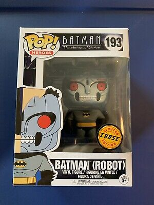 Funko Pop Animated Series Batman Robot Chase #193