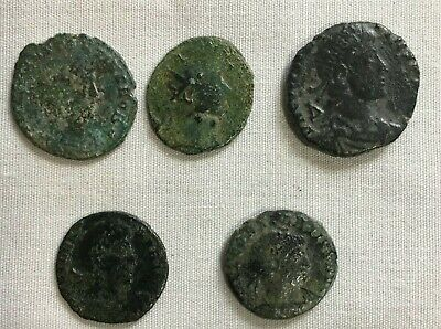 Ancient Roman Coins Lot of 5 Lot B