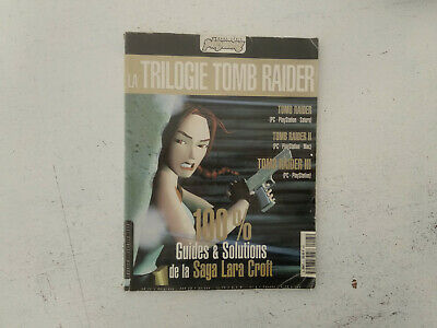 Guide et solutions trilogie Tomb Raider 1/2/3 PLAYMAG  FRancais