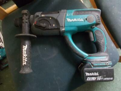 18V MAKITA LXT LI-ION SDS+ 3-MODE HAMMER DRILL BHR202 with 4Ah BATTERY GWO