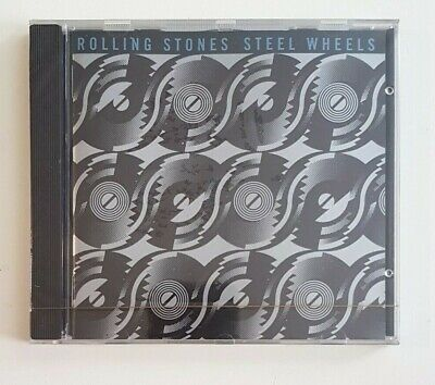 New Original 1989 Cd ♦ The Rolling Stones : Steel Wheels // Mixed Emotion