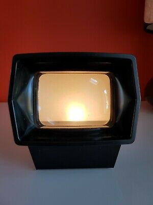 Vintage Explorer 35mm Self Illuminating slide viewer Paterson Photax