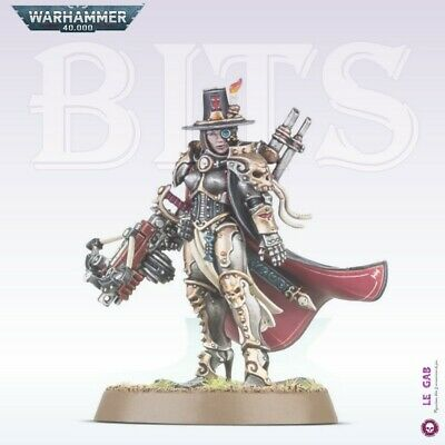 Bits Inquisition Inquisitrice Greyfax Warhammer 40,000 W40K