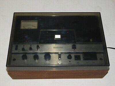 Vintage Advent Model 201 Stereo Audio Cassette Tape Deck Player Dolby Hifi USA