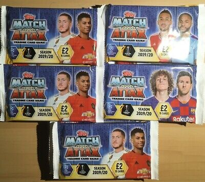 Topps Match Attax 2019/2020 Football Trading Cards Box X30 Packs - 15 Per Pack