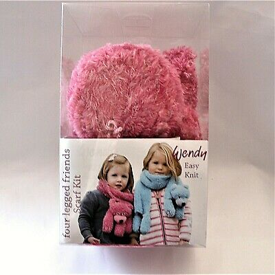 Wendy Four Legged Friends Bobby Bear Rose Scarf Kit