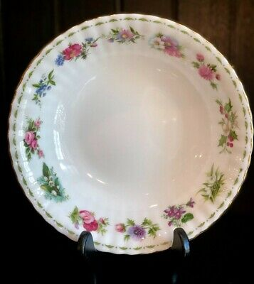ROYAL ALBERT Flower of the Month ALL 12 MONTHS Large Fruit Bowl China ENGLAND