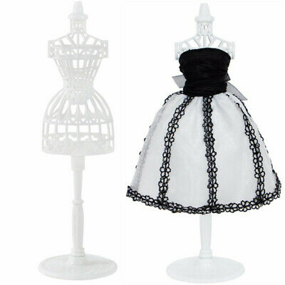 Doll Clothes Model Stand Hollow Out Dress Display Mannequin Holder Children Gift