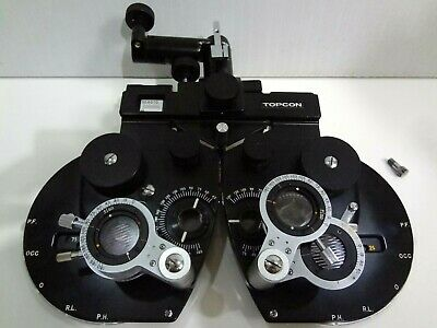 Topcon VT-D5 Phoropter Vision Tester Ophthalmology Made in Japan