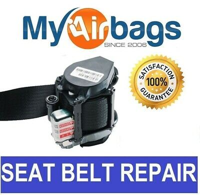 Fits Jaguar Seat Belt Repair Buckle Pretensioner Rebuild Reset Recharge Service