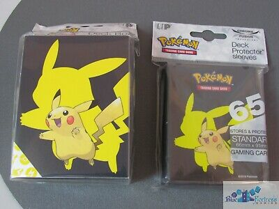 Pokemon Tcg Ultra Pro Pikachu 2019 Deck Protector Card Sleeves And Deck Box