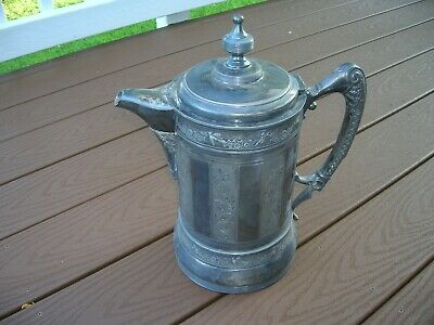 Silver Plated Wilcox Big Water Pitcher/ Silverplate Wilcox Pitcher/Jug Y