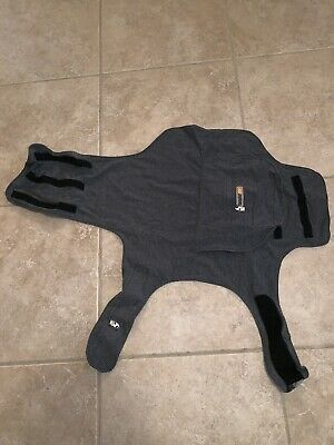 Thundershirt Dog Anxiety Calming Treatment XL Dogs Solid Gray