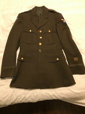 WW2 US Army 12th Air Force MAAF USAAF Officers Jacket, Excellent Condition