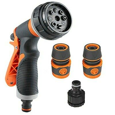 Garden Hose Nozzle Water Spray High Pressure Power Washer Water Spray Gun Set NA