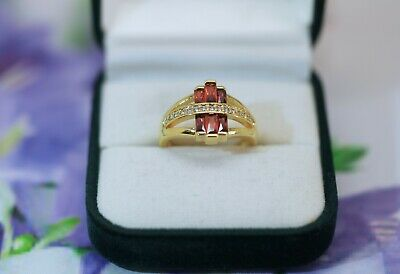 Art Deco Vintage Jewellery Gold Ring Antique Jewelry Size N Or 7
