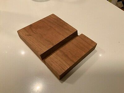 American Express (AMEX) Platinum Wooden Wood Stand For iPhone Tablet Kindle iPad