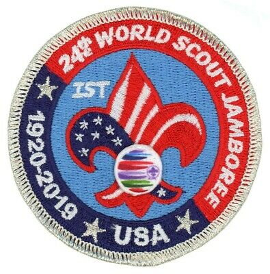 2019 World Jamboree US Contingent IST (STAFF) Patch