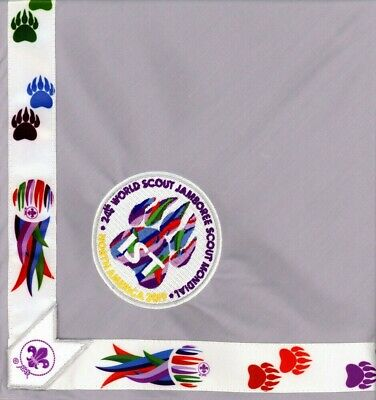 2019 World Scout Jamboree Staff IST International Service Team Neckerchief - NEW