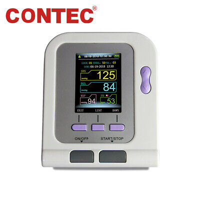 CONTEC08A Digital upper Arm Blood Pressure Monitor Machine, Adult BP Cuff+USB+SW
