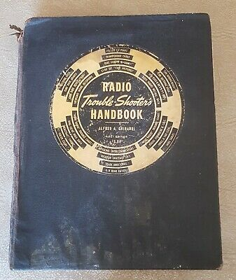 RADIO TROUBLE-SHOOTER'S HANDBOOK by ALFRED A. GHIRARDI 1939 FIRST EDITION