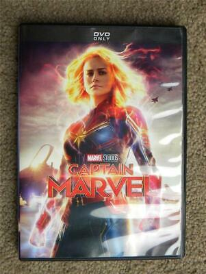 Miss Any of MARVEL's AVENGERS Series? CAPTAIN MARVEL, DVD - Great Used Condition