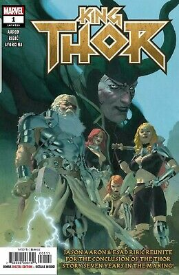 King Thor #1 2019 MARVEL Comics Main Cover NM