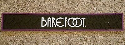 Barefoot Wine Rubber Pub / Bar Pad / Mat matt  / Spill Rail bar mat BRAND NEW !!