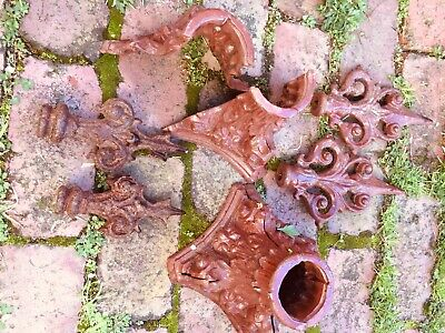 Cast Iron Gate Post Decoration Holders And Finials