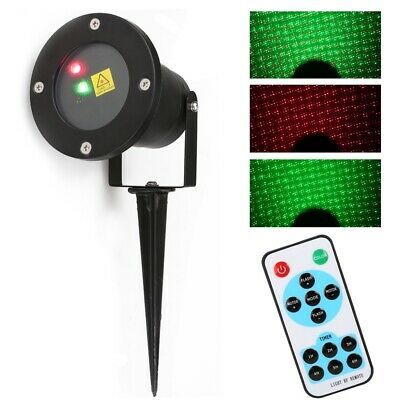 Navidad al aire libre Dynamic Firefly Projector y Starry Lawn Light Impermeable