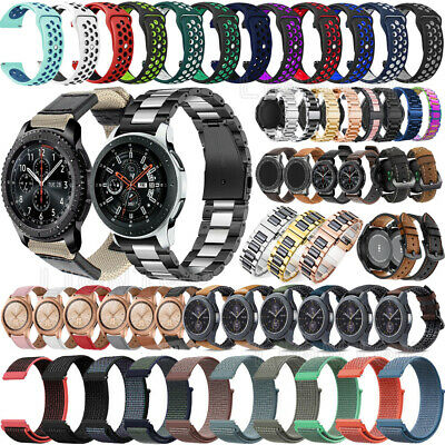 For Huawei Watch GT 2 Leather Silicone Stainless Watch Band Strap Wristband 22mm