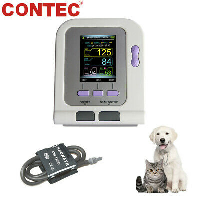 CONTEC08A VET Digital Automatic Veterinary Blood Pressure Monitor,NIBP Cuff,USB