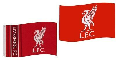 Liverpool FC Flag Official Merchandise 152cm X 91cm Red LFC