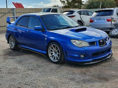 2006 Subaru Impreza Wrx S 2.5L Turbo 5Spd Manual 133Kms Damaged Repairable