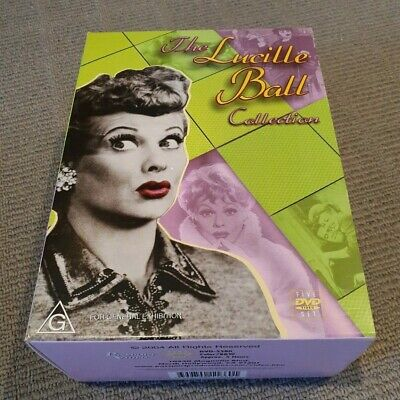 RARE - The Lucille Ball Collection - DVD 2004 [5 disc set] - All Regions NTSC