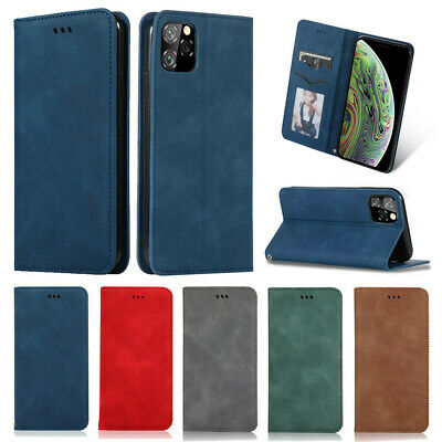 Flip Leather magnetic Kickstand Case Cover For iPhone 11 Pro Max X Xr 8 7 6 Plus