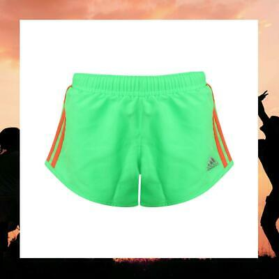Adidas Performance Youth Infant Girls Climalite Fluorescent Sports Shorts S20212