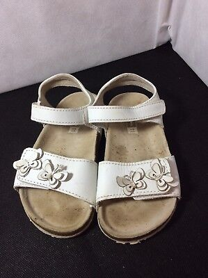 Girls John Lewis Butterfly Sandals Size 11 £22.99 7/11