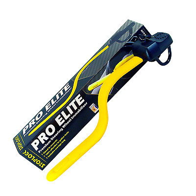 Stoplock 'Pro Elite' - Steering Wheel Lock For Cars - Secure Anti-Theft Device