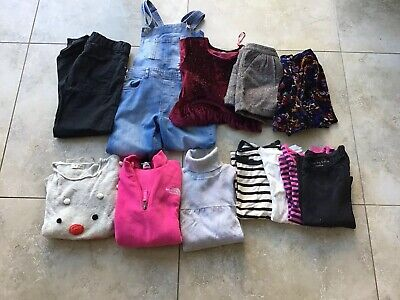 Girls Winter Clothes Bundle Age 9 To 10 Years (Next, M&S, H&M)