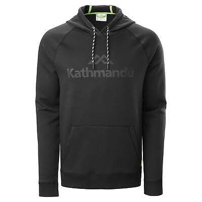 NEW Kathmandu KMD Mens Logo Outdoor Travel Hoodie Relaxed Fit