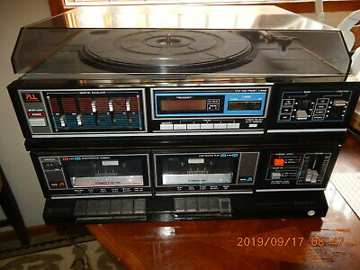 GXT 757 Sanyo Music System with instruction manual